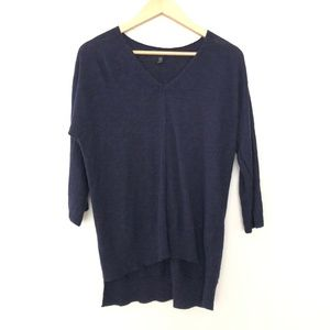 Eileen Fisher 3/4 Sleeve Sweater Top SM